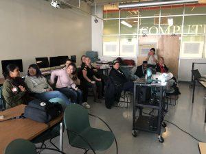 Audience enjoying FabLab 2 presentations