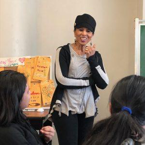 Nona teaching joyfully