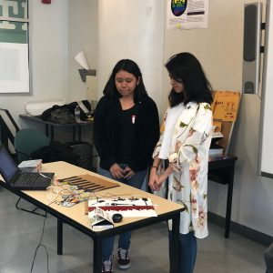 Wendy and Atika present final FabLab project